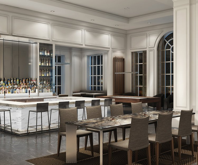 Downtown Spartanburg's AC Hotel Completes Final Floor, Reveals Interior Renderings
